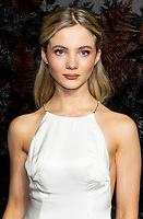 Freya Allan  at THE WORLD PREMIERE OFTHE WITCHER at Vue Leicester Square London,  UK - 16 Dec 2019 photo by  Brian Jordan