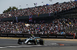July 8, 2018 - Silverstone, Great Britain - Motorsports: FIA Formula One World Championship 2018, Grand Prix of Great Britain, ..#77 Valtteri Bottas (FIN, Mercedes AMG Petronas Motorsport) (Credit Image: © Hoch Zwei via ZUMA Wire)