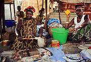 Dakar, the market.