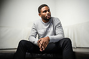 NEW YORK, NY -- 6/6/17 -- Nnamdi Asomugha, stars in the new film Crown Heights, based on the life of Colin Warner, who was wrongly incarcerated for over 20 years. Asomugha plays his best friend, Carl King in the film, which won the Audience Award at Sundance. The film is to be released August 25.…by André Chung #_AC18785