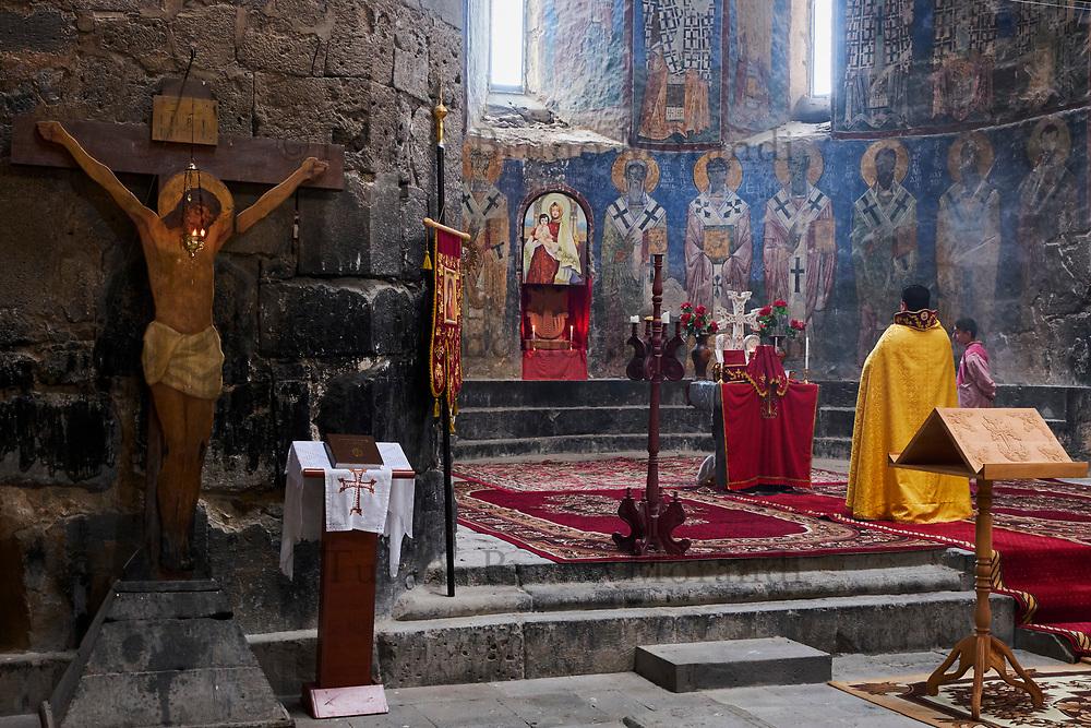 Armenie, province de Lori, eglise georgienne d'Akhtala // Armenia, Mori province, Akhtala, georgian church