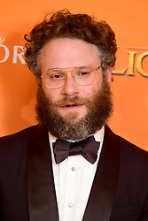 Seth Rogen attending Disney's The Lion King European Premiere held in Leicester Square, London.