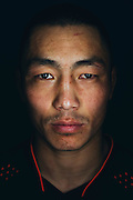 Batgerel Danaa of Mongolia poses for a portrait at Jackson Wink MMA in Albuquerque, New Mexico on June 9, 2016.