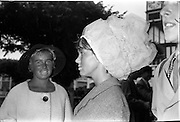 09/08/1962<br /> 08/09/1962<br /> 09 August 1961<br /> RDS Horse Show, Ballsbridge Dublin, Thursday. Breda Ferris of Church Road, Killiney, wearing hat.