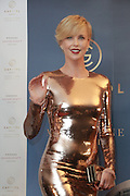 HONG KONG, CHINA - OCTOBER 28: (CHINA OUT) <br /> <br /> Actress Charlize Theron attends a commercial activity to promote a real estate project of Australias Melbourne on October 28, 2015 in Hong Kong, China. <br /> ©Exclusivepix Media