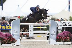 Clarys Bart, BEL, Joie De Toulon<br /> Final Belgium Championships<br /> Zangersheide FEI World Cup Breeding Jumping<br /> © Hippo Foto - Dirk Caremans<br /> 15/09/18