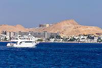 Egypt, Hurghada. Diving and snorkeling trip outisde Hurghada. Hurghada city.