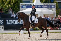 Pohlmeier Anne-Kathrin, GER, Lordswood Dancing Diamond<br /> Longines FEI/WBFSH World Breeding Dressage Championships for Young Horses - Ermelo 2017<br /> © Hippo Foto - Dirk Caremans<br /> 06/08/2017