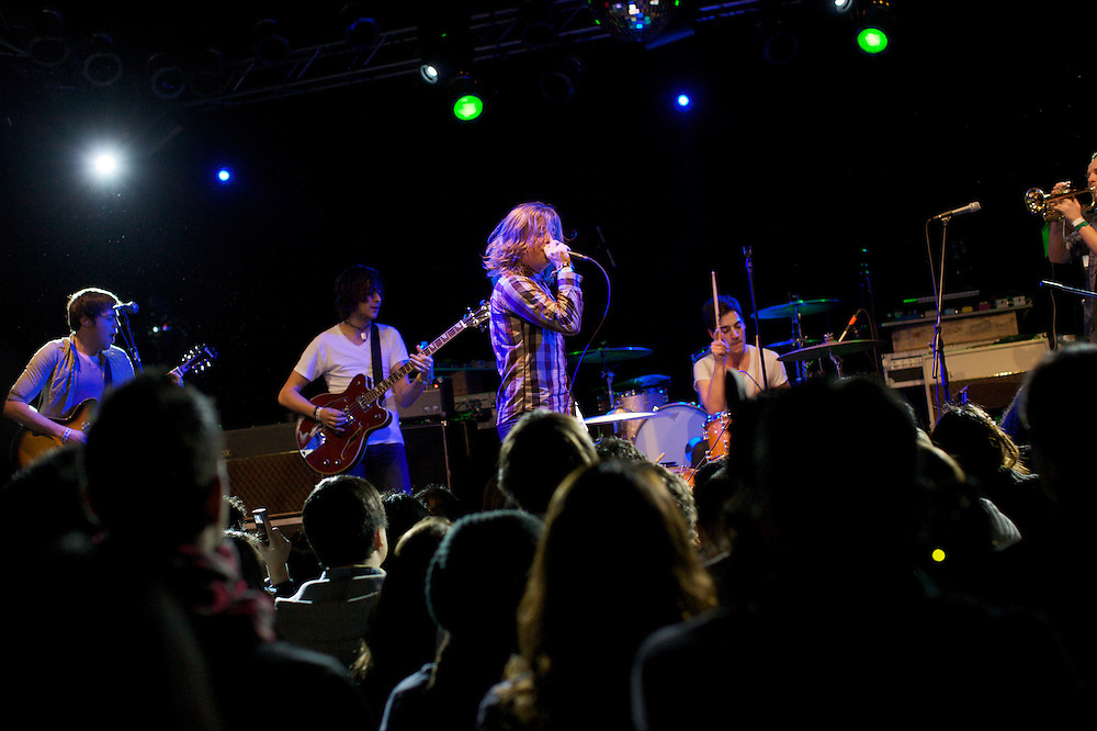 You, Me, and Everyone We Know, performs at the Highline Ballroom in Manhattan, Wednesday, February 9, 2011. (Photo/Claudio Papapietro)