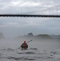 Mist in Alverstraumen