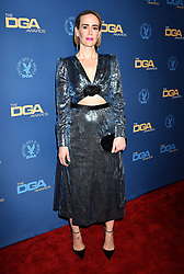 HOLLYWOOD, CA - FEBRUARY 02: Sarah Paulson attends the 71st Annual Directors Guild Of America Awards at The Ray Dolby Ballroom at Hollywood. 02 Feb 2019 Pictured: Sarah Paulson. Photo credit: Jeffrey Mayer/JTMPhotos, Int'l. / MEGA TheMegaAgency.com +1 888 505 6342