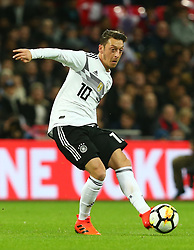 November 10, 2017 - London, England, United Kingdom - Mesut Ozil of Germany ..during International Friendly match between England  and Germany  at Wembley stadium, London  on 10 Nov  , 2017  (Credit Image: © Kieran Galvin/NurPhoto via ZUMA Press)