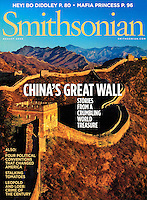 Smithsonian Magazine cover-Great Wall of China