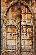 Decorative doorway in Puerto Vallarta, Mexico