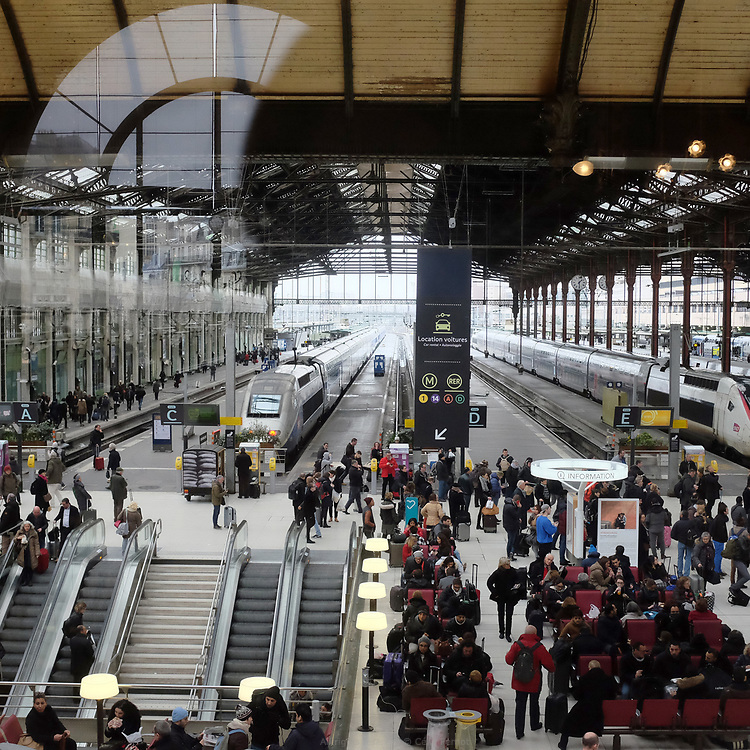 Le Train Bleu, Gare de Lyon, Paris