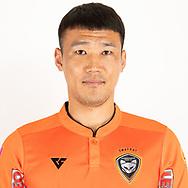 THAILAND - JUNE 25: Lee Wonjae #15 of Nakhonratchasrima Mazda FC on June 25, 2019.<br /> .<br /> .<br /> .<br /> (Photo by: Naratip Golf Srisupab/SEALs Sports Images/MB Media Solutions)