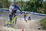 #78 (WHYTE Tre) GBR during practice of Round 3 at the 2018 UCI BMX Superscross World Cup in Papendal, The Netherlands