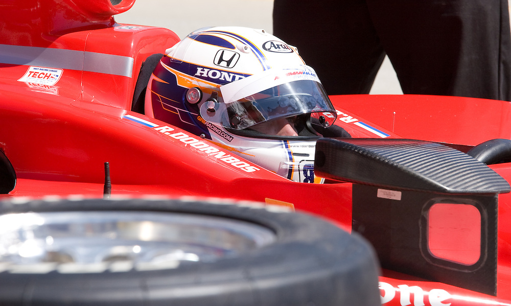 #06 Car Newman/Haas/Lanigan Racing. Long Beach Grand Prix 04/25/09