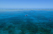 Snorkeling on Agincourt Reef - Great Barrier Reef, Queensland, Australia. <br />