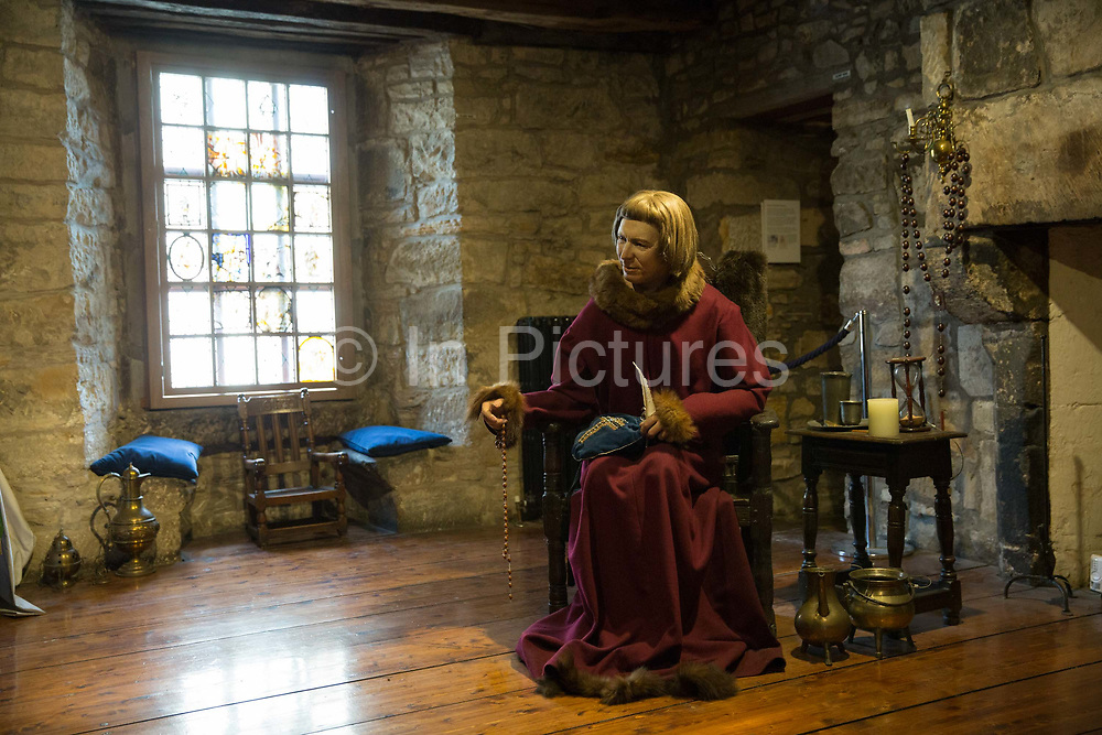 The Provands Lordship of Glasgow on the 2nd November 2018 in Glasgow in the United Kingdom. The Provands Lordship is a medieval historic house museum located at the top of Castle Street within sight of the Glasgow Cathedral. Built in 1471, it is one of only four surviving medieval buildings in Glasgow.