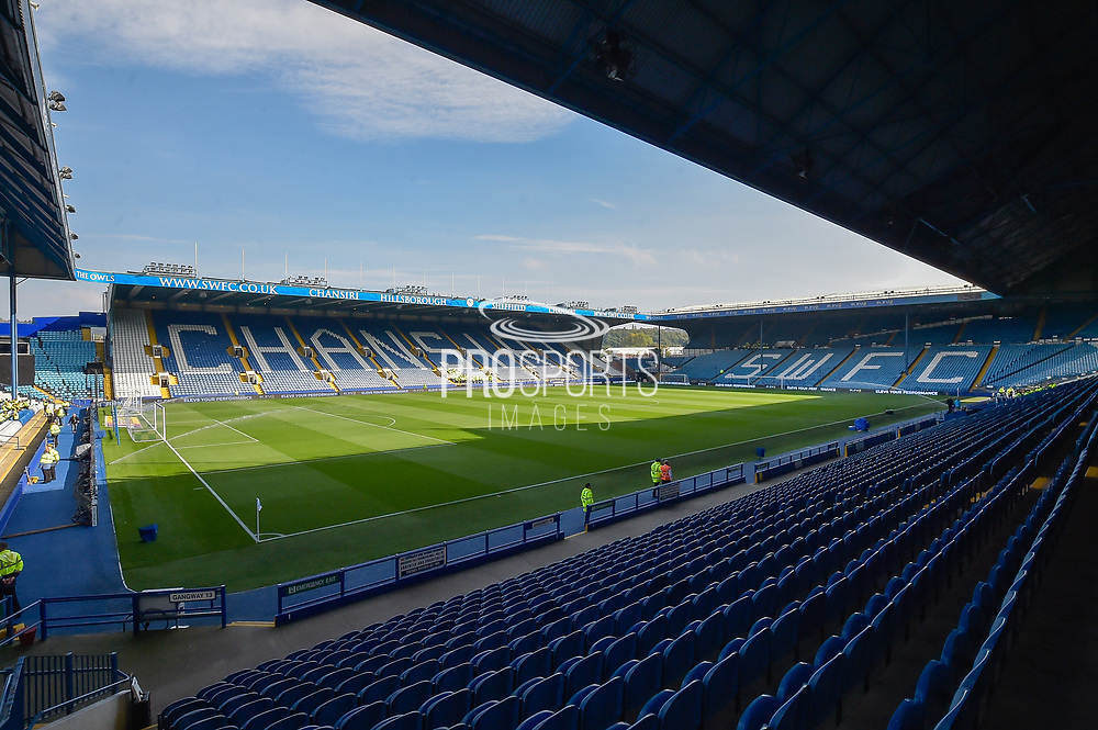 Hillsborough during the EFL Sky Bet Championship match between Sheffield Wednesday and Sheffield Utd at Hillsborough, Sheffield, England on 24 September 2017. Photo by Adam Rivers.