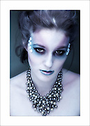 Model Karen O'Neill, beauty shots. Makeup by Danielle Horan. Picture:Arthur Carron