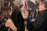 ALEXANDRA SHULMAN; DAKOTA JOHNSON; MARIO TESTINOVogue100 A Century of Style. Hosted by Alexandra Shulman and Leon Max. National Portrait Gallery. London. WC2. 9 February 2016.