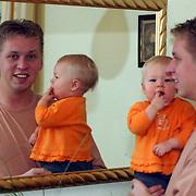 Arno Kolenbrander met dochter Anouk