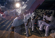 """""""Taking the Field."""" White Sox opening day on Monday, March 31, 2014 at U.S. Cellular Field. Made with three exposures in camera. (Brian Cassella/Chicago Tribune) B583640404Z.1 <br /> ....OUTSIDE TRIBUNE CO.- NO MAGS,  NO SALES, NO INTERNET, NO TV, CHICAGO OUT, NO DIGITAL MANIPULATION..."""