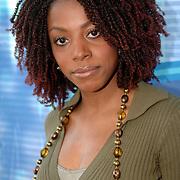 NLD/Baarn/20051229 - Persconferentie finalisten Idols 2005, Angelique Koorndijk