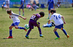04 May 2014. U9 Emerald Coast Cup Final. Niceville, Florida. <br /> U9 Jesters v Gulf Coast Academy. 2-2 final whistle in a cracking game. On to penalty shoot out. Beaten 3-1 on penalty shoot out. Final score 5-3 Gulf Coast Academy. Great game. Well done both teams. Gutting......<br /> Photo; Charlie Varley/varleypix.com