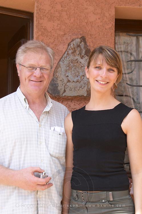 Pierre and Marie-Pierre Piquemal. Domaine Piquemal, Espira de l'Agly, Roussillon, France