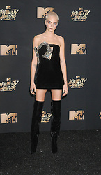 Cara Delevingne at The 2017 MTV Movie And TV Awards in Los Angeles, USA
