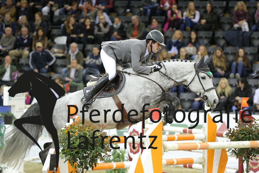 Weishaupt, Philipp Luce del Castegno<br /> Oldenburg - Oldenburger Pferdetage 2013<br /> Internationales Springen<br /> © www.sportfotos-lafrentz.de / Stefan Lafrentz