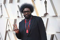 February 24, 2019 - Los Angeles, California, U.S - QUESTLOVE during red carpet arrivals for the 91st Academy Awards, presented by the Academy of Motion Picture Arts and Sciences (AMPAS), at the Dolby Theatre in Hollywood. (Credit Image: © Kevin Sullivan via ZUMA Wire)