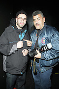 l to r: DJ Preservation and Joe Conzo at ' Bring out the Sound System: The West Indian Roots of HipHop held at The Point on February 28, 2009 in the Bronx, NY..It is a known fact that the trinity of Hip Hop DJ pioneers have roots in the West Indies including DJ Kool Herc, Afrika Bambaataa, and Grandmaster Flash. Other early artists who made significant contributions to the music include Kool DJ Red Alert, KRS-One, Doug E. Fresh, among others.   ..Post World War II Bronx had a growing community of West Indian immigrants, particularly after the U.S. Immigration Act of 1965.  Recreation rooms at 1520 Sedgwick where Kool Herc deejayed and Bronx River Houses where Afrika Bambaataa held court as well as many local parks and early venues like the Black Door, where Grandmaster Flash rocked, mark the cradle of Hip Hop.