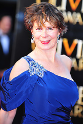 © Licensed to London News Pictures. 15/04/2012. London, England.Celia Imrie attends the 2012  Olivier Awards at The Royal Opera House in Covent Garden London on April 15th, England. Photo credit : ALAN ROXBOROUGH/LNP