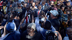 30/07/2018: Zimbabwe, Harare. MDC alliance president Nelson Chamisa during a press conference after casting his vote. <br /> Chamisa was voting at Kuwadzana 2 in Harare, Zimbabwe where thousands of voters were queuing to also cast their votes. 347<br /> Picture: Matthews Baloyi/African News Agency (ANA)