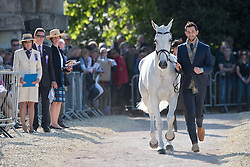 Johnstone Clarke, (NZL), Balmoral Sensation<br /> CCI4* - Mitsubishi Motors Badminton Horse Trials 2016<br /> © Hippo Foto - Jon Stroud<br /> 06/05/16
