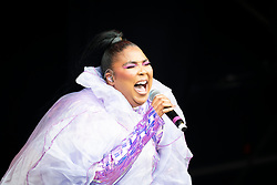 Lizzo performs live on the West Holts stage on day 4 of Glastonbury 2019, Worthy Farm, Pilton, Somerset. Picture date: Saturday 29th June 2019.  Photo credit should read:  David Jensen/EmpicsEntertainment