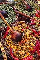 olives, markets, Provence, France