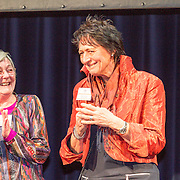 NLD/Amsterdam/20160121 - Uitreiking Taalhelden prijzen 2016 door Prinses Laurentien, Claire Vrijdag en Hank Gronheid