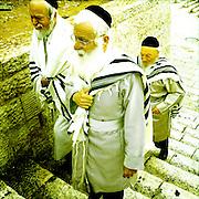 Jerusalem, Israel. September 24th 2011.A street scene at the Damascus Gate, main entrance to the old city of Jerusalem..