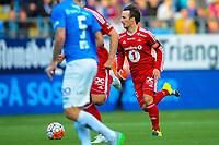 Fotball, 20 August 2015, Tippeligaen, Eliteserien, Molde - Rosenborg, Foto: Marius Simensen, Digitalsport, Mike Jensen