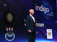 Wayne Warren during the Finsl of the BDO World Professional Championships at the O2 Arena, London, United Kingdom on 12 January 2020.