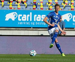 Frederik Winther (Lyngby Boldklub) under kampen i 3F Superligaen mellem Lyngby Boldklub og FC København den 1. juni 2020 på Lyngby Stadion (Foto: Claus Birch).