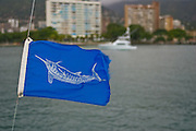 White Marlin release flags.