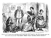 """Paterfamilias insists that the girls shall wear very stout boots in the wet weather; but the girls don't at all like """"The nasty great ugly clumsy thick things!"""""""