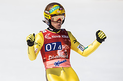 Noriaki Kasai of Japan during the Ski Flying Hill Men's Team Competition at Day 3 of FIS Ski Jumping World Cup Final 2017, on March 25, 2017 in Planica, Slovenia. Photo by Vid Ponikvar / Sportida
