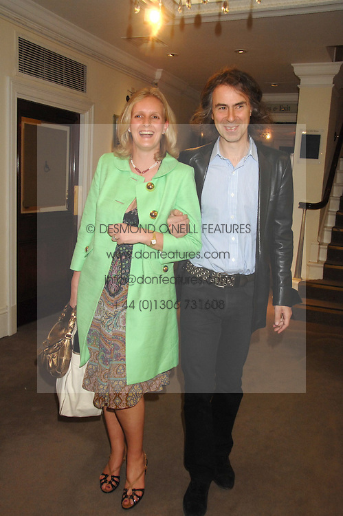 IVOR BRAKA and ALEXANDRA WILLIAMS, she was Alexandra Heseltine at the Sotheby's Summer Party 2007 at their showrooms in New Bond Street, London on 4th June 2007.<br /><br />NON EXCLUSIVE - WORLD RIGHTS